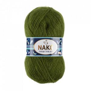 Fir de tricotat sau crosetat - Fire tip mohair acril NAKO MOHAIR DELICATE - VERDE COD 6126