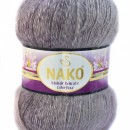 Fir de tricotat sau crosetat - Fire tip mohair acril NAKO MOHAIR DELICATE COLORFLOW DEGRADE 28082