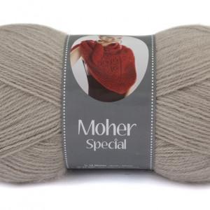 Fir de tricotat sau crosetat - Fire tip mohair acril NAKO MOHER SPECIAL GRI 1199