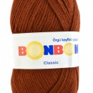 Fir de tricotat sau crosetat - Fire tip mohair din acril BONBON CLASIC MARO 98322