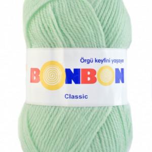 Fir de tricotat sau crosetat - Fire tip mohair din acril BONBON CLASIC VERNIL 98329