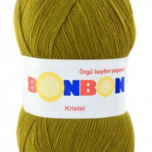 Fir de tricotat sau crosetat - Fire tip mohair din acril BONBON KRISTAL 98874