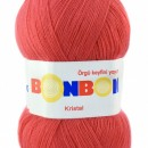 Fir de tricotat sau crosetat - Fire tip mohair din acril BONBON KRISTAL 98299