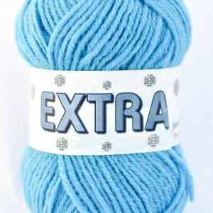 Fir de tricotat sau crosetat - Fire tip mohair din acril CANGURO - EXTRA ALBASTRU - 337