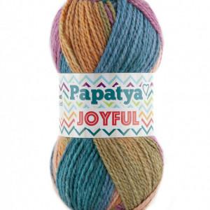 Fir de tricotat sau crosetat - Fire tip mohair din acril Kamgarn Papatya Joyful degrade 23