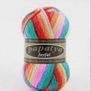 Fir de tricotat sau crosetat - Fire tip mohair din acril Kamgarn Papatya Joyful degrade 17
