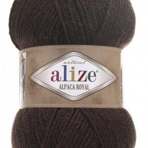 Fir de tricotat sau crosetat - Fire tip mohair din alpaca 30%, lana 15%, acril 55% Alize Alpaca Royal MARO 201
