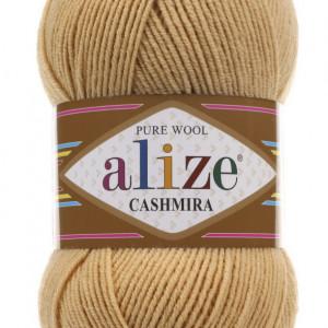 Fir de tricotat sau crosetat - Fire tip mohair din lana 100%, Alize CASHMIRA BEJ 97