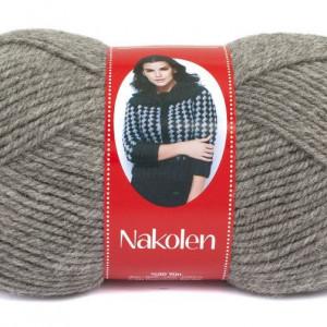 Fir de tricotat sau crosetat - Fire tip mohair din lana 50% si acril 50% Nakolen GRI 194