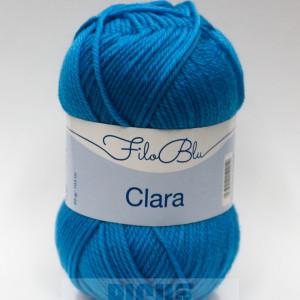 Fir de tricotat sau crosetat - Fire tip mohair din poliester Filo Blu - Clara 13