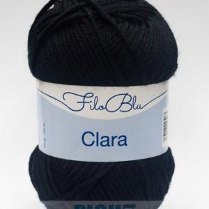 Fir de tricotat sau crosetat - Fire tip mohair din poliester Filo Blu - Clara 18