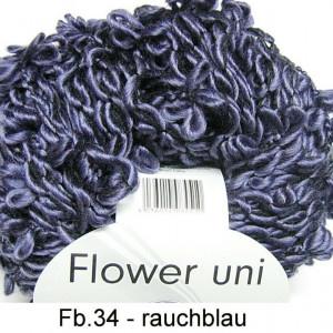 Fir de tricotat sau crosetat - FLOWER by GRUNDL UNI GRI - BLEOMAREN - 34