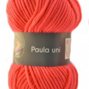 Fir de tricotat sau crosetat - PAULA UNI by GRUNDL ROZ - 13 (FLUO)