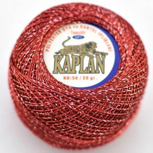 Fir de crosetat polyester + lurex KAPLAN 816