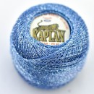 Fir de crosetat polyester + lurex KAPLAN 820