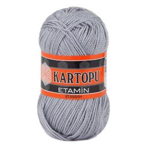 Fir de tricotat,brodat sau crosetat - Fir KARTOPU ETAMIN GRI 913