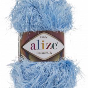 Fir de tricotat sau crosetat - FANCY - ALIZE DECOFUR BLEO 40