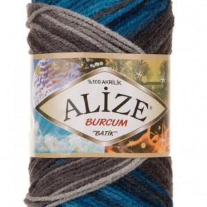 Fir de tricotat sau crosetat - Fir ACRILIC ALIZE BURCUM BATIK DEGRADE 4200