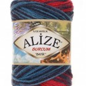 Fir de tricotat sau crosetat - Fir ACRILIC ALIZE BURCUM BATIK DEGRADE 4340