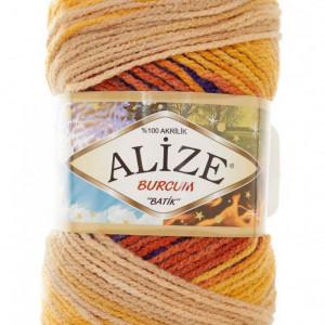 Fir de tricotat sau crosetat - Fir ACRILIC ALIZE BURCUM BATIK DEGRADE 6272