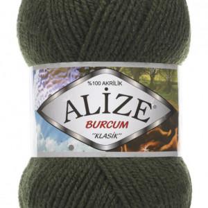 Fir de tricotat sau crosetat - Fir ACRILIC ALIZE BURCUM KLASIK VERDE 29