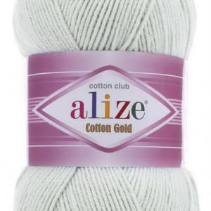 Fir de tricotat sau crosetat - Fir ALIZE COTTON GOLD GRI 533
