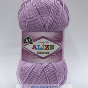 Fir de tricotat sau crosetat - Fir ALIZE COTTON GOLD LILA 166