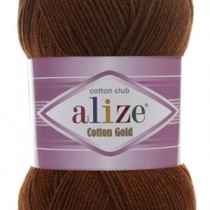 Fir de tricotat sau crosetat - Fir ALIZE COTTON GOLD MARO 690