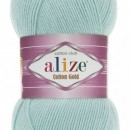Fir de tricotat sau crosetat - Fir ALIZE COTTON GOLD Vernil 522