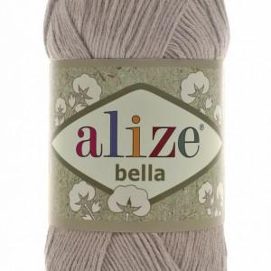 Fir de tricotat sau crosetat - Fir BUMBAC 100% ALIZE BELLA - BEJ 629