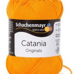 Fir de tricotat sau crosetat - Fir BUMBAC 100% MERCERIZAT CATANIA MANGO 411