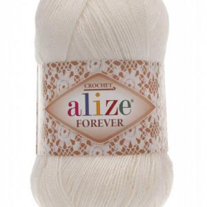 Fir de tricotat sau crosetat - Fir microfibra ALIZE FOREVER CREAM 292