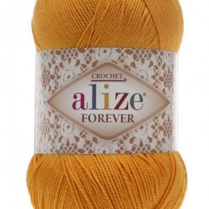 Fir de tricotat sau crosetat - Fir microfibra ALIZE FOREVER PORTOCALIU 83