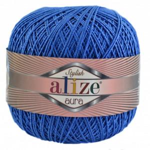 Fir de tricotat sau crosetat - Fire Alize Aura - Albastru - 141