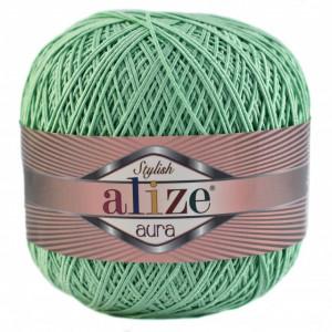 Fir de tricotat sau crosetat - Fire Alize Aura - VERDE - 465