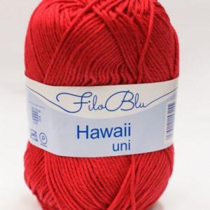 Fir de tricotat sau crosetat - Fire amestec Bumbac 100% GRUNDL HAWAII UNI - ROSU - 07