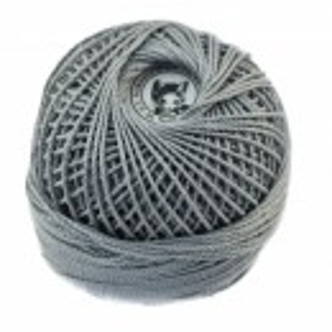 Fir de tricotat sau crosetat - Fire Bumbac 100% ANGELICA ROMANOFIR BOBINA GRI 1281