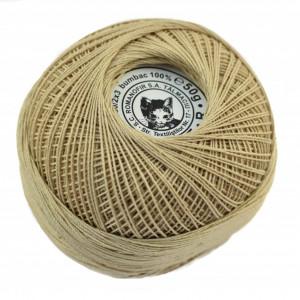 Fir de tricotat sau crosetat - Fire Bumbac 100% ANGELICA ROMANOFIR BOBINA BEJ 6