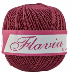 Fir de tricotat sau crosetat - Fire Bumbac 100% FLAVIA ROMANOFIR BOBINA MOV 1215