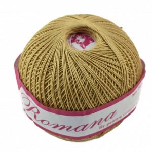 Fir de tricotat sau crosetat - Fire Bumbac 100% ROMANA - ROMANOFIR BOBINA BEJ 6P