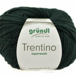Fir de tricotat sau crosetat - Fire din lana 100% Grundl Trentino -VERDE INCHIS 05