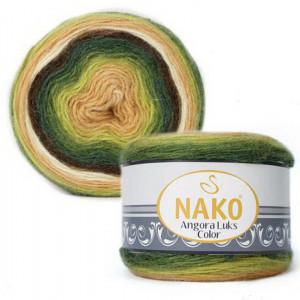 Fir de tricotat sau crosetat - Fire tip mohair acril NAKO ANGORA LUKS COLOR 81905