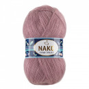Fir de tricotat sau crosetat - Fire tip mohair acril NAKO MOHAIR DELICATE - MOV COD 6114