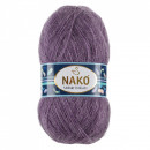 Fir de tricotat sau crosetat - Fire tip mohair acril NAKO MOHAIR DELICATE - MOV COD 6149