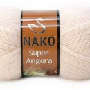 Fir de tricotat sau crosetat - Fire tip mohair acril NAKO SUPER ANGORA CREAM 2250