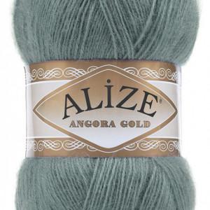 Fir de tricotat sau crosetat - Fire tip mohair din acril Alize Angora Gold Azur 164