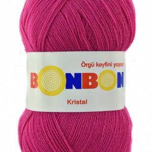 Fir de tricotat sau crosetat - Fire tip mohair din acril BONBON KRISTAL  98403