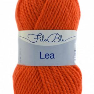 Fir de tricotat sau crosetat -Fire tip mohair din acril GRUNDL - LEA - 03 - PORTOCALIU FLUO