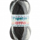 Fir de tricotat sau crosetat - Fire tip mohair din acril Kamgarn Papatya Joyful degrade 14