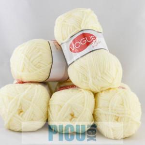 Fir de tricotat sau crosetat - Fire tip mohair din acril Nako Export - #6306